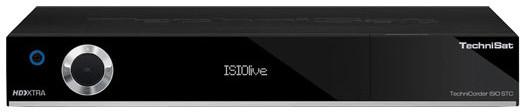 TechniSat DIGIT ISIO STC, 4K, černá