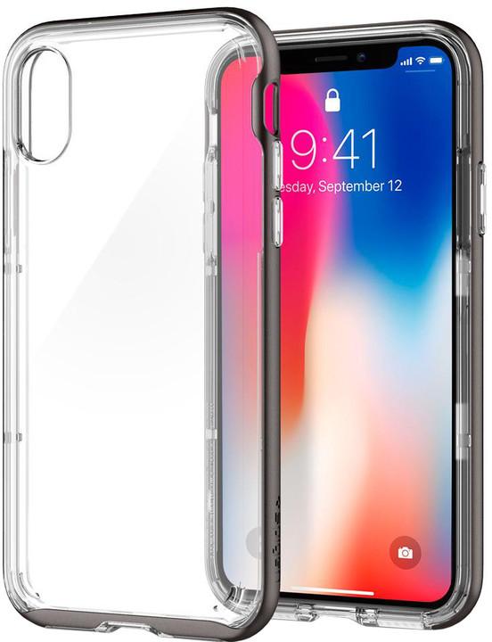 Spigen Neo Hybrid Crystal pro iPhone X, gunmetal