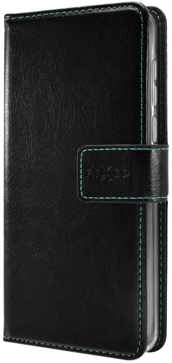 FIXED Opus pouzdro typu kniha pro Huawei P10, černé