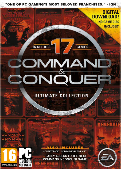 Command and Conquer: The Ultimate Collection - PC