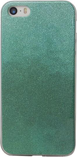 EPICO pouzdro pro iPhone 5/5S/SE GRADIENT RAINBOW - turquoise