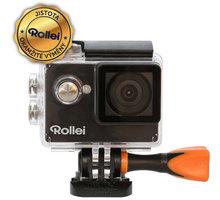 Rollei ActionCam 350, černá - 40301 + Rollei sada 23 ks příslušenství pro akční kamery v ceně 1349 Kč