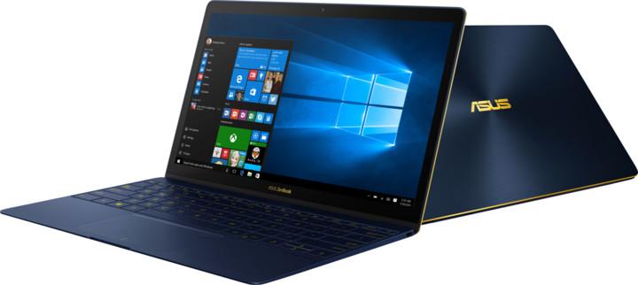 ASUS ZenBook 3 UX390UA-GS052R, modrá