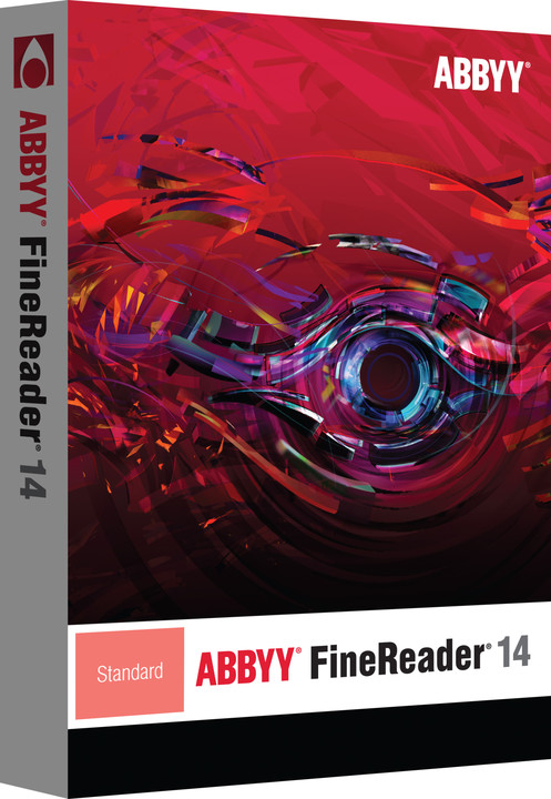ABBYY FineReader 14 Standard / BOX / CZ