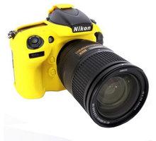 Easy Cover silikonový obal pro Nikon D800/D800E, žlutá - ECND800Y