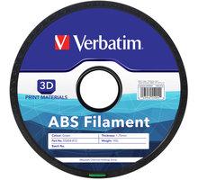 Verbatim tisková struna ABS, zelená, 1,75mm, 1kg - 55004