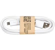 Samsung kabel micro USB, bílá - bulk - ECB-DU4AWE bulk