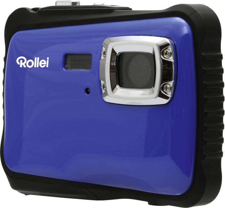 Rollei Sportsline 65, voděodolný, modrá/černá, brašna