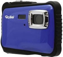 Rollei Sportsline 65, voděodolný, modrá/černá, brašna - 10059