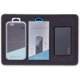 EPICO 3in1 BLACK EDITION iPhone 6/6S Plus - Case Matt + Powerbank E12 + Glass