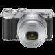 Nikon 1 J5 + 10-30mm, stříbrná