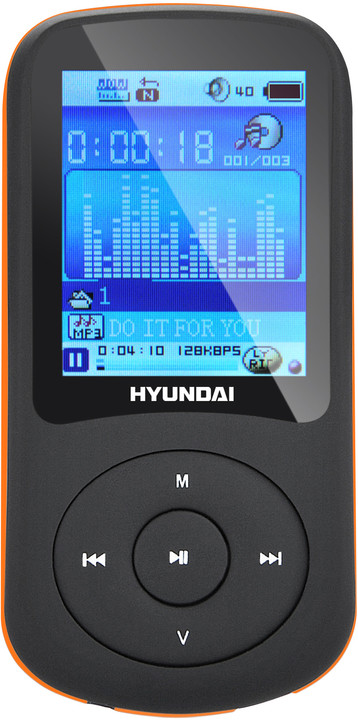 Hyundai MPC 401, 8GB, černá