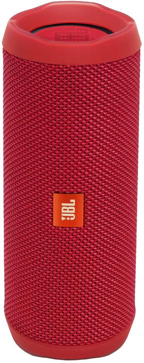 JBL Flip4, červená