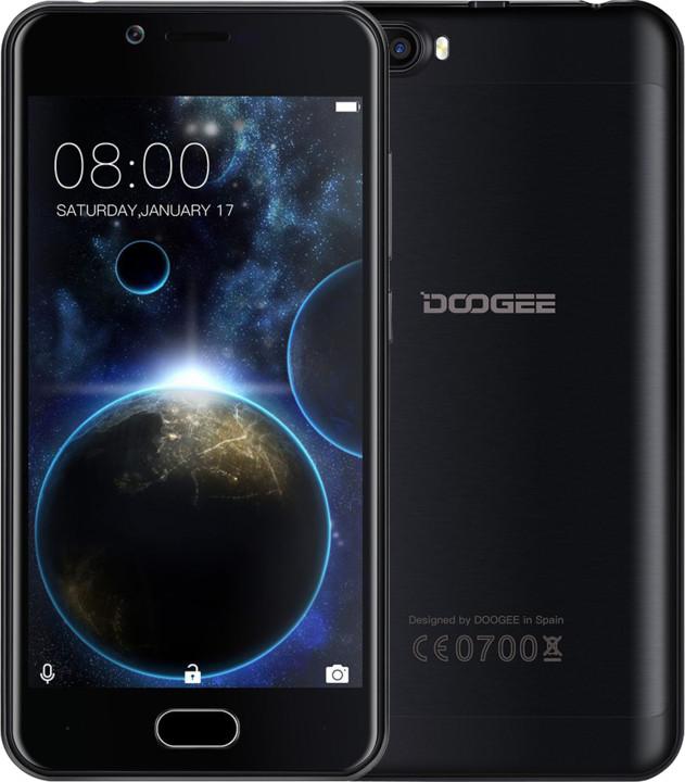 DOOGEE Shoot 2 - 16GB, černá
