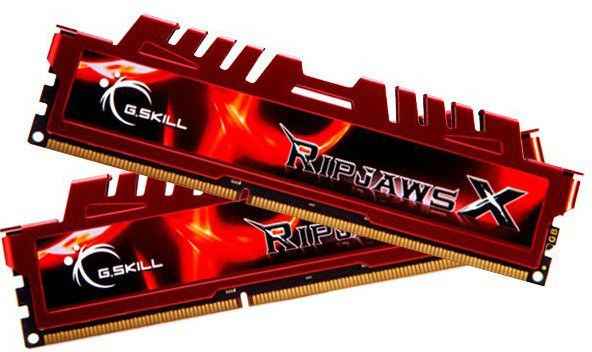 G.SKill RipjawsX 8GB (2x4GB) DDR3 1866 CL9
