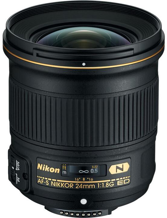 Nikon objektiv Nikkor 24mm f/1.8G AF-S ED
