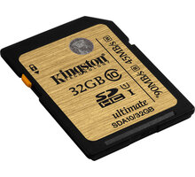 Kingston SDHC Ultimate 32GB Class 10 UHS-I - SDA10/32GB