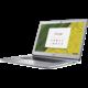 Acer Chromebook 15 (CB515-1HT-P235), stříbrná