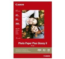 Canon Foto papír Plus Glossy II PP-201, A3, 20 ks, 260g/m2, lesklý - 2311B020