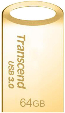 Transcend JetFlash 710 64GB, zlatá