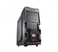 CoolerMaster K380, černá, bez zdroje, průhledná bočnice - RC-K380-KWN1