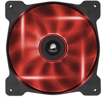 Corsair Air Series AF140 Quiet LED Red Edition, 140mm - CO-9050017-RLED