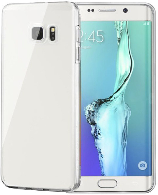 CELLY pouzdro Gelskin pro Samsung Galaxy S6 Edge Plus, bezbarvé