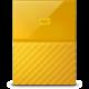 WD My Passport - 1TB, žlutá