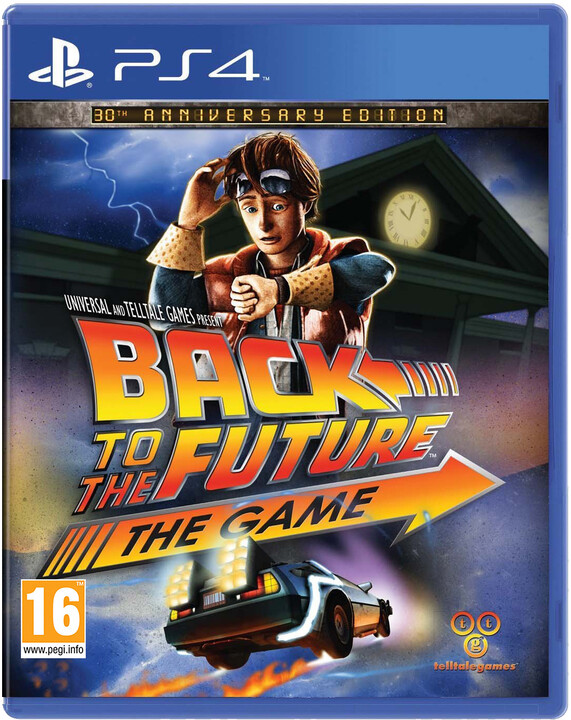 Back to the Future: The Game - 30th Anniversary (PS4)
