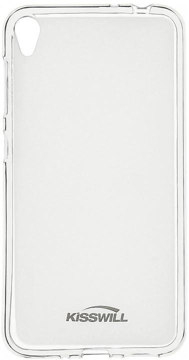 Kisswill TPU pouzdro pro Asus Zenfone Live ZB501KL, transparentní