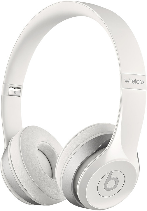 Beats Solo 2 Wireless, bílá