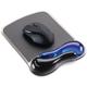 Kensington ergonomická gelová podložka pod myš Duo - modrá