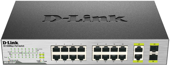 D-Link DES-1018P