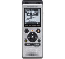 Olympus WS-852, stříbrná + Newton Dictate Business 365 na 1 rok - V415121SE000