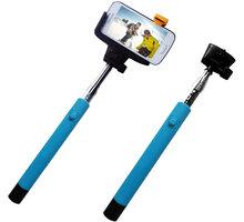 C-TECH Teleskopický selfie držák MP107G, Bluetooth, modrý - MP107M