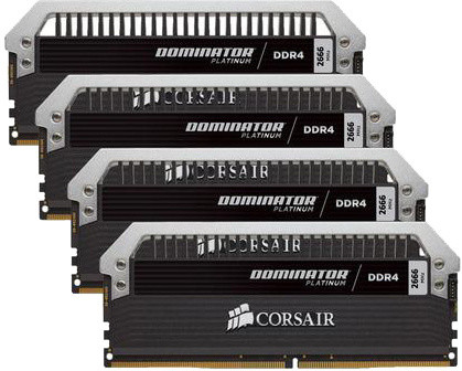 Corsair Dominator Platinum 16GB (4x4GB) DDR4 3600