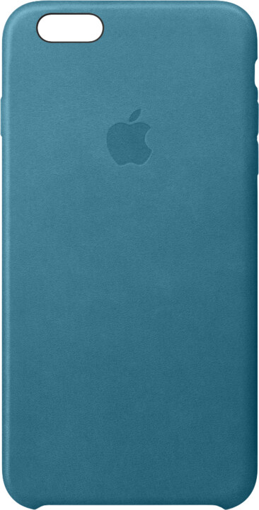 Apple iPhone 6s Plus Leather Case, Marine Blue