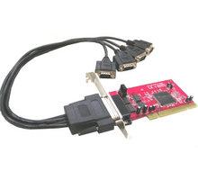 Kouwell IO-104 PCI řadič 4x sériový port