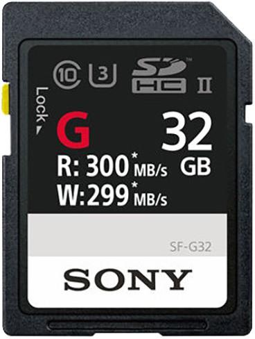 Sony SDHC SF-G 32GB UHS II U3