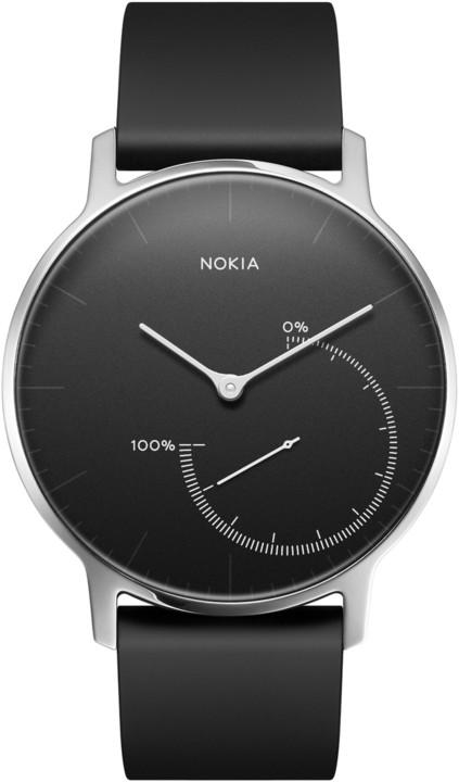 Nokia chytré hodinky Activité Steel - černá