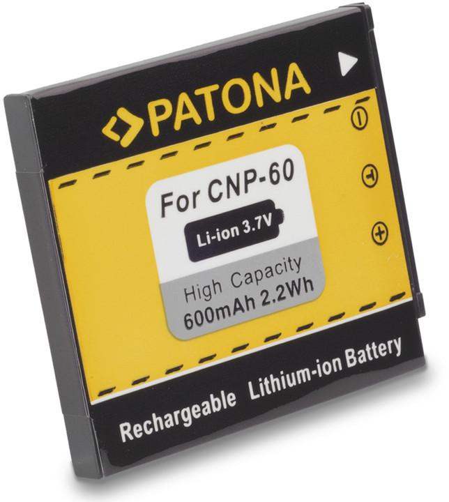 Patona baterie pro Casio, NP-60 600mAh