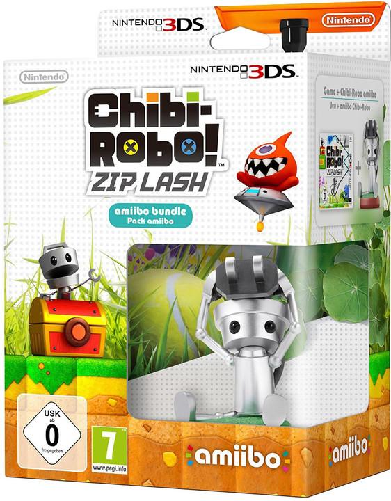 Chibi-Robo: Zip Lash + Chibi-Robo Amiibo (3DS)