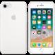 Apple silikonový kryt na iPhone 8/7, bílá