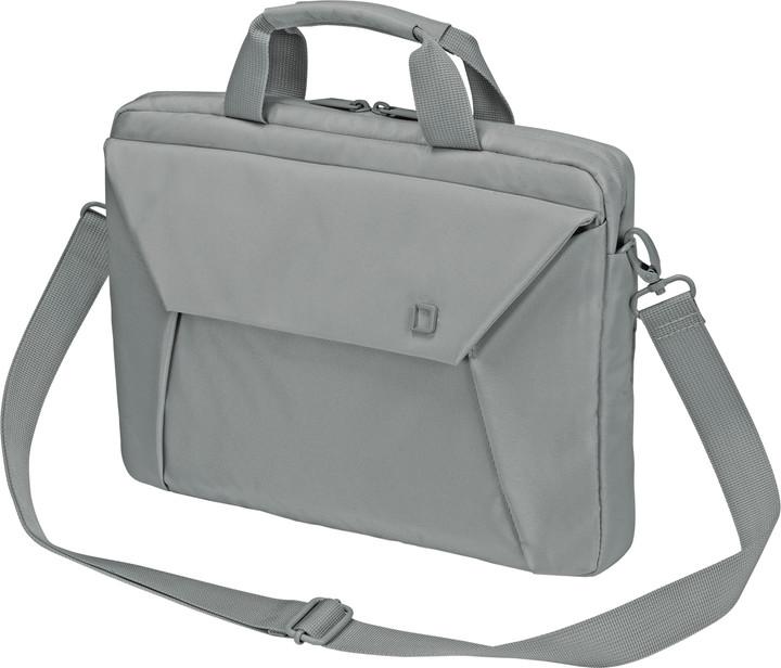 """DICOTA Slim Case EDGE - Brašna na notebook - 13.3"""" - šedá"""
