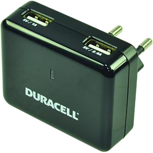 Duracell nabíječka 2,4A a 1A, 2xUSB