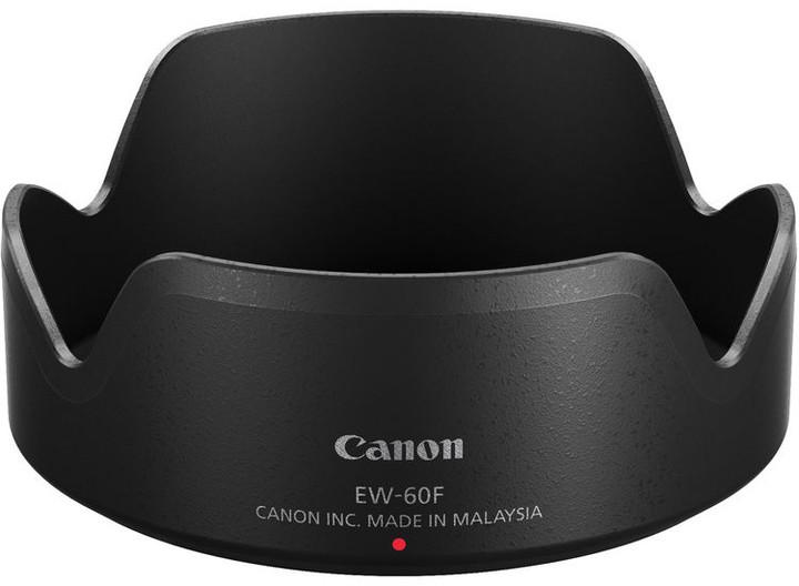 Canon EW-60F, sluneční clona