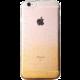 EPICO Pružný plastový kryt pro iPhone 6 HOCO GLITTER - zlatý