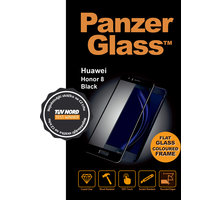 PanzerGlass ochranné sklo na displej pro Huawei Honor 8, černé - 1135