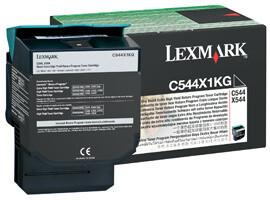 Lexmark C544X1KG - černá
