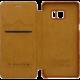 Nillkin Qin S-View Note 7 (N930), hnědá